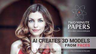 منظمة العفو الدولية يخلق نماذج 3D من وجوه | دقيقتين ورقات #149