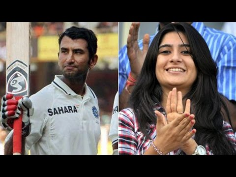 Cheteshwar Pujara's wife reaction caught on camera after successful review appeal | Oneindia News