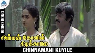 Amman Kovil Kizhakale Movie Songs | Chinnamani Kuyile Video Song | Vijayakanth | Radha | Ilayaraja