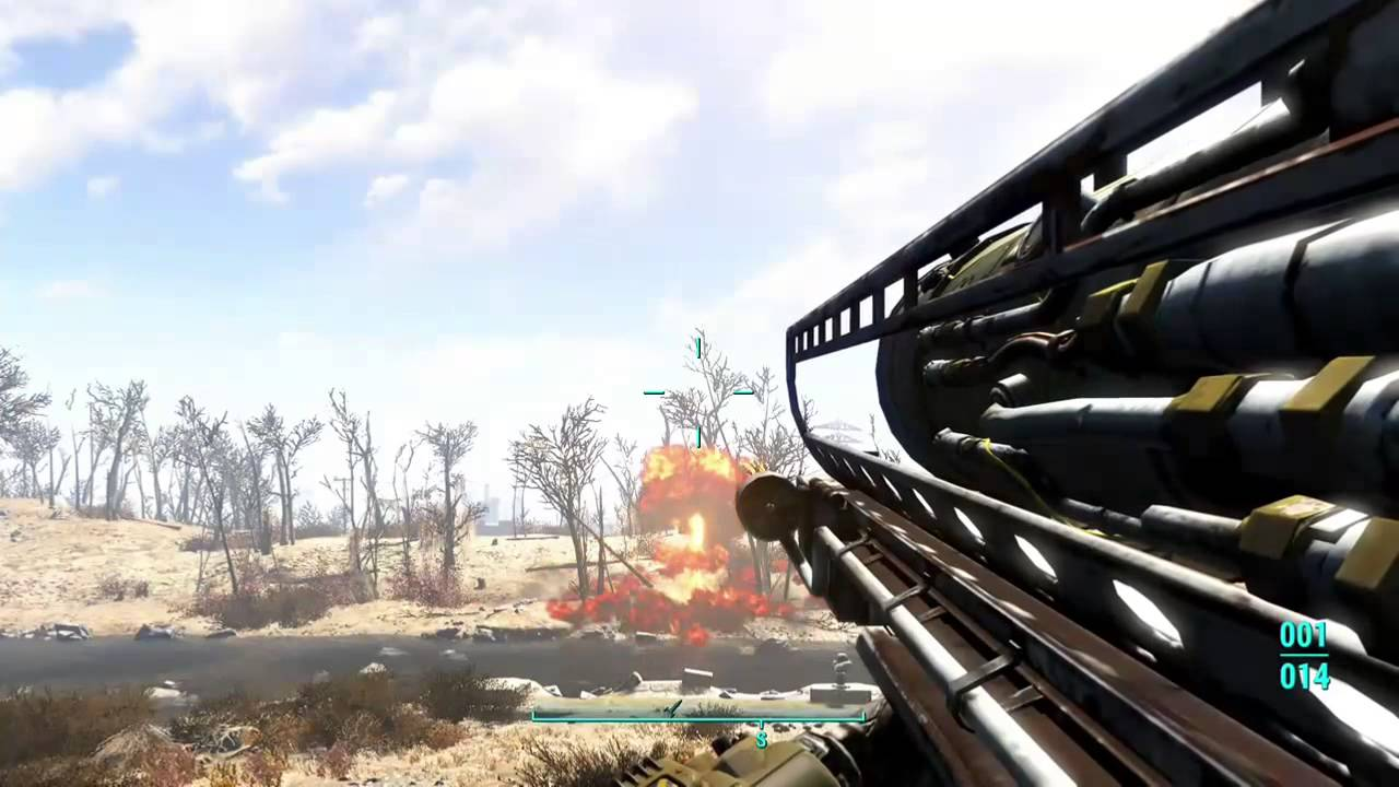 how to get the mirv launcher on fallout 4