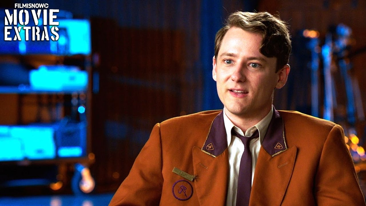 BAD TIMES AT THE EL ROYALE | On-set visit with Lewis Pullman