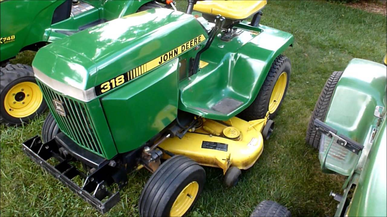 Evolution Of The John Deere Garden Tractor Youtube