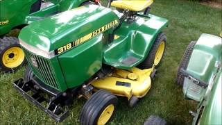 Evolution of the John Deere Garden Tractor