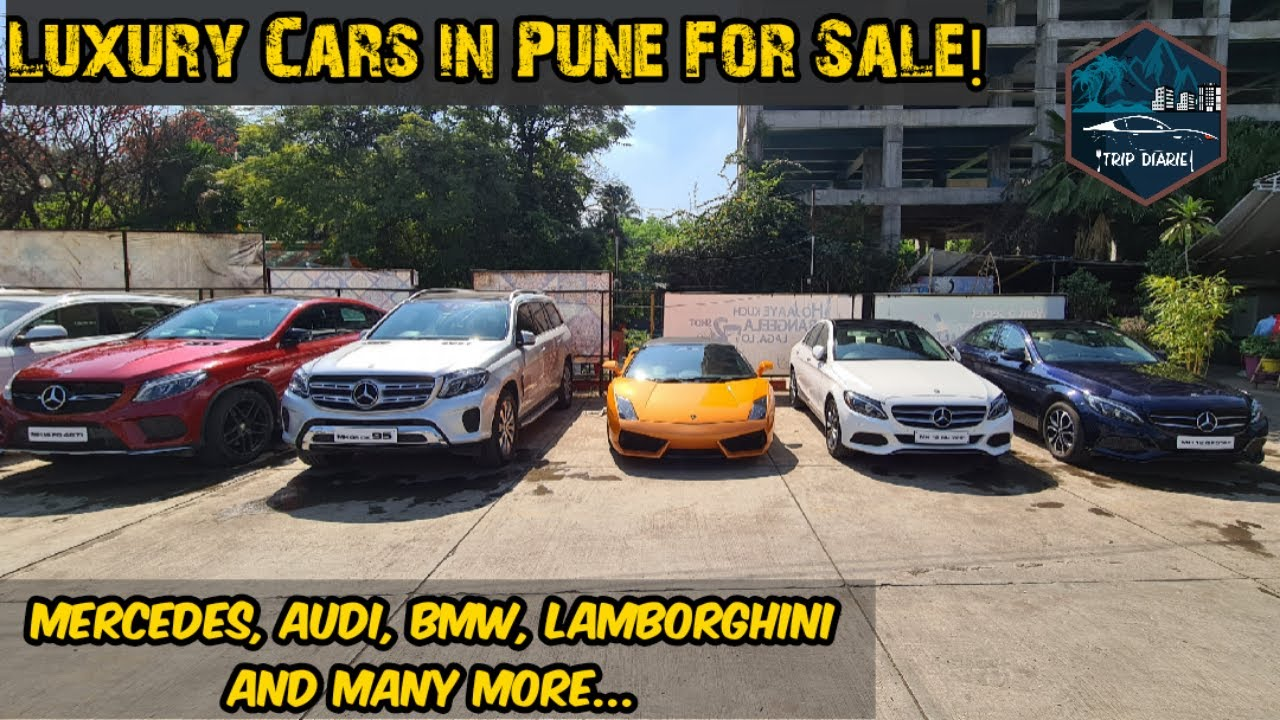 Used Mercedes, Audi,BMW,Lambo For Sale Second Hand Luxury Cars in Pune Tripdiarie  Trip Diaries Cars