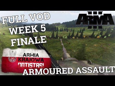 Armia Krajowa Antistasi - Full VOD Week #5 Finale | اليمن