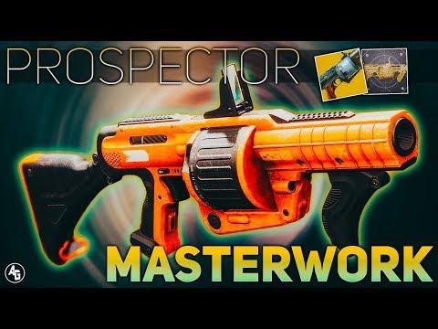 The Prospector Masterwork (Prospector Exotic Catalyst) | Destiny 2 ARC WEEK