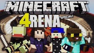 ALLE GEGEN ALLE! Special mit Taddl, Ardy & Zombey! - Minecraft 4RENA | ungespielt