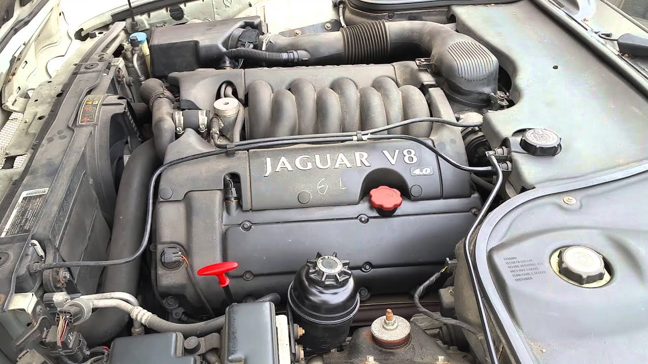1999 Jaguar XJ8 Engine Knock  YouTube