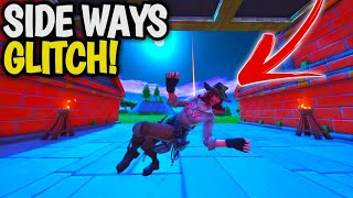 Fortnite NEW Glitch: How To Turn SIDE WAYS in Fortnite Creative! Fortnite SEASON 8 GLITCHES!