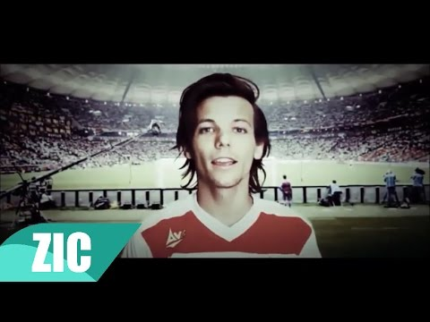 One Direction  Football FIFA world cup 2014  Music video