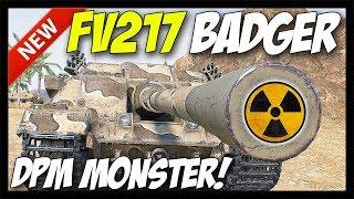 ► FV217 Badger - 4,800 DPM MONSTER! - World of Tanks FV217 Badger - 9.21 Update Test Server
