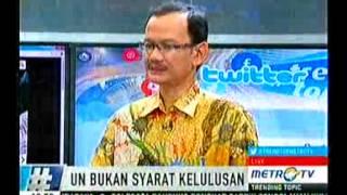 Trending Topic UN BUKAN SYARAT KELULUSAN Part 1 29 Januari 2015