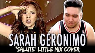 Sarah Geronimo - Salute (Little Mix Cover) REACTION!!!