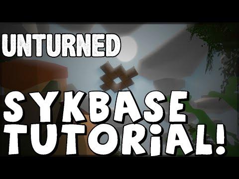 UNTURNED SKYBASE Tutorial! [Unturned 3.0+]