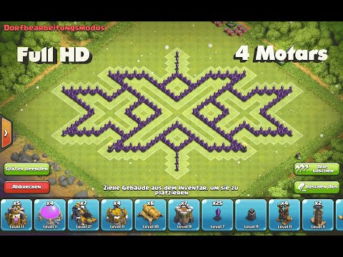 Base Coc Th 8 Triple X 11