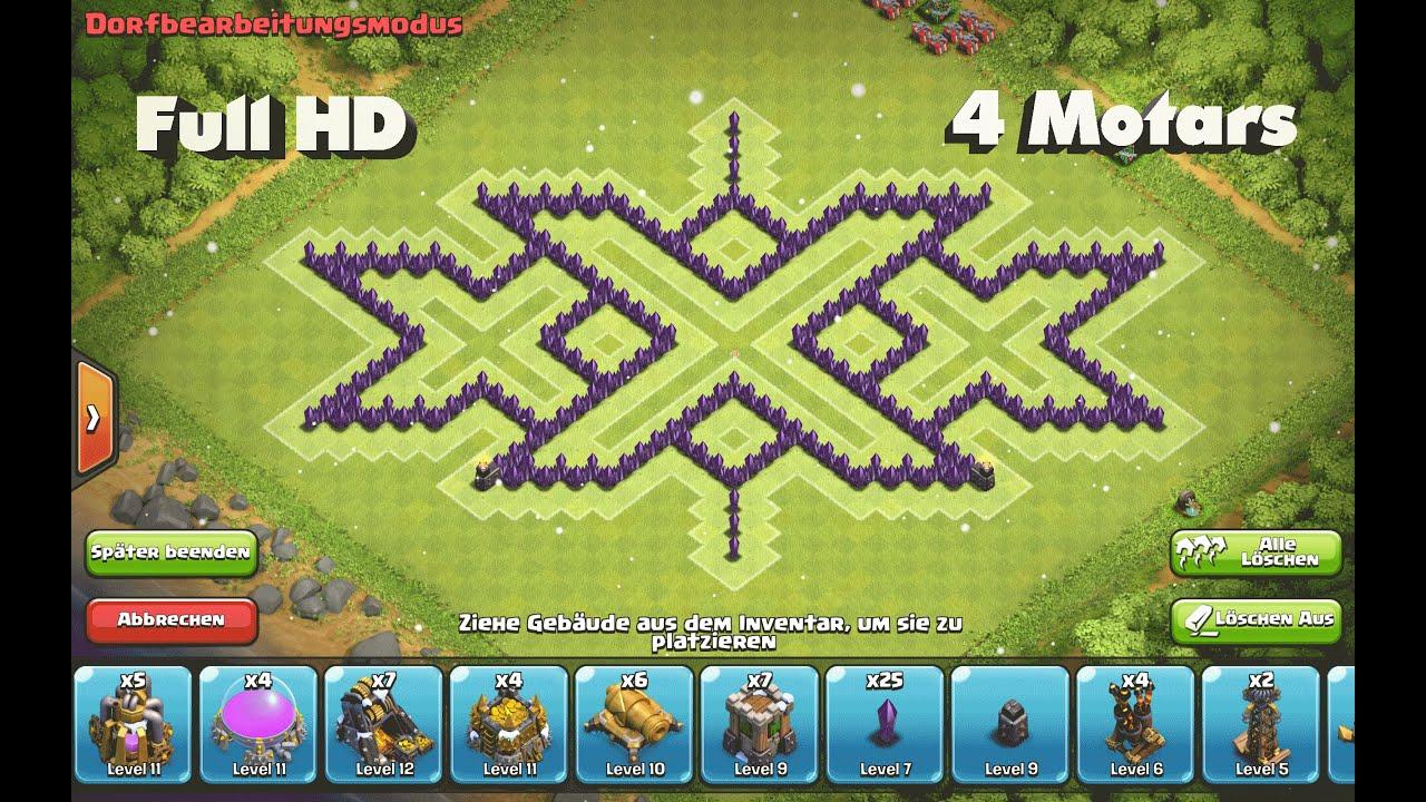 Base Coc Th 8 Triple X 3