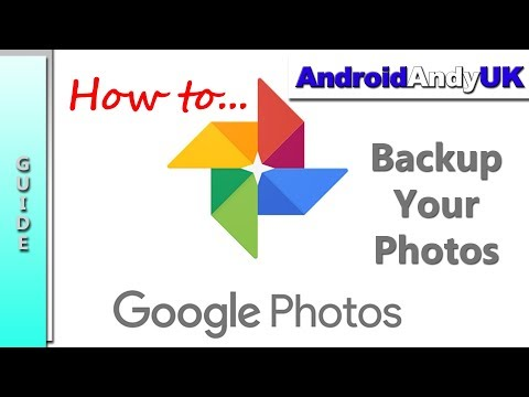 how to stop google photos backup