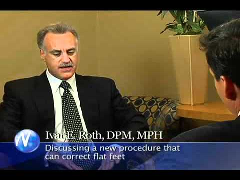 Correcting Flat Feet - Dr. Ivar Roth