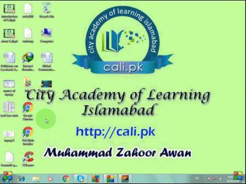 Introduction to Inpage urdu typing Lesson-1