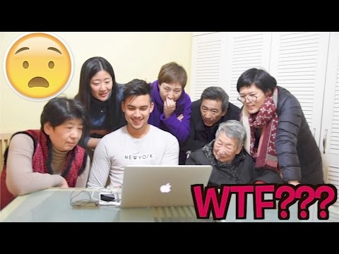 MY CHINESE FAMILY REACT TO MY CRAZIEST VIDEOS!!!