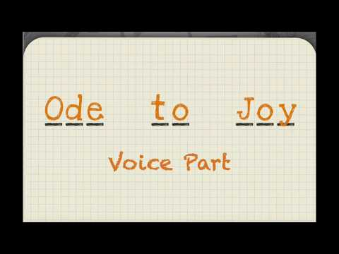 Ode To Joy - Voice Part - Link Up The Orchestra Sings