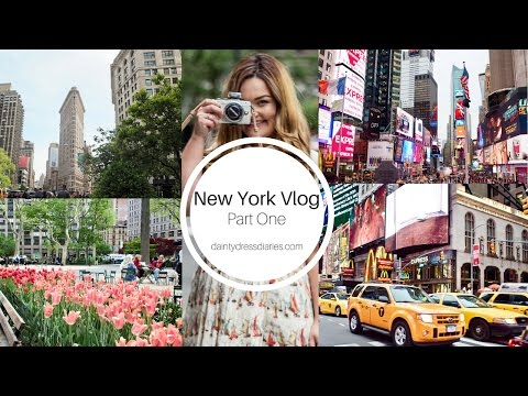 New York Vlog | Part One.