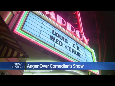 Clint August - Protesters Angry Over Louis C.K. Show In San Jose