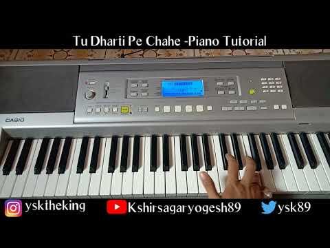 Tu Dharti Pe Chahe Jahan Bhi - Jeet Piano Cover