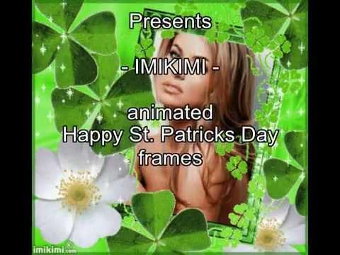 Imikimi Animated Happy St Patricks Day Photo Frames By Photo Fun