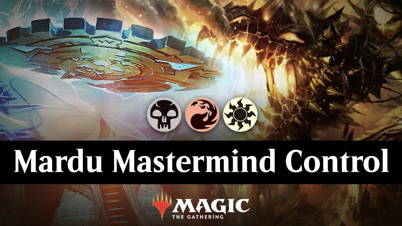 Mardu Mastermind Control | MTG Arena Ranked Ladder Gameplay