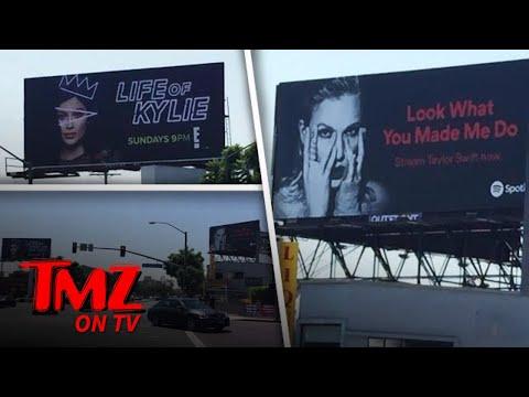 Taylor Swift & Kylie Jenner: Battle Of The Billboards | TMZ TV