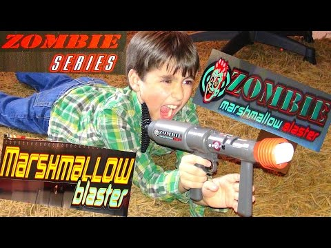 Robert-Andre's Marshmallow Zombie Blaster!