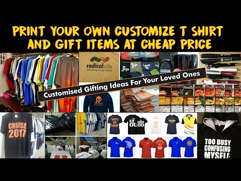 Custom T shirt & Gift Items In Cheap | Design Your Own T Shirt & Promotional Items | Custom Printing