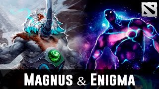Magnus & Enigma Pub Moments Dota 2