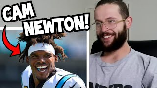 "Rugby Player Reacts to CAM NEWTON ""Superman"" NFL Highlights!"