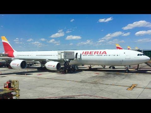 TRIP REPORT- Iberia A340-600 Madrid- London Heathrow (Economy)