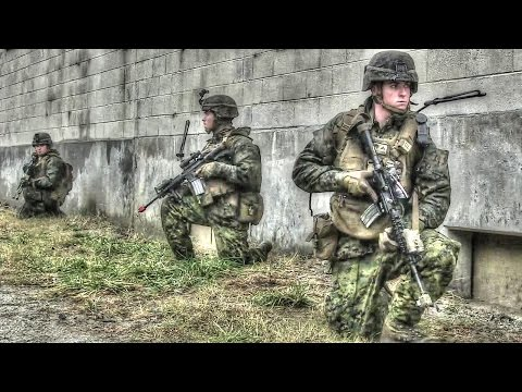 Military Operations on Urbanized Terrain (MOUT) Training