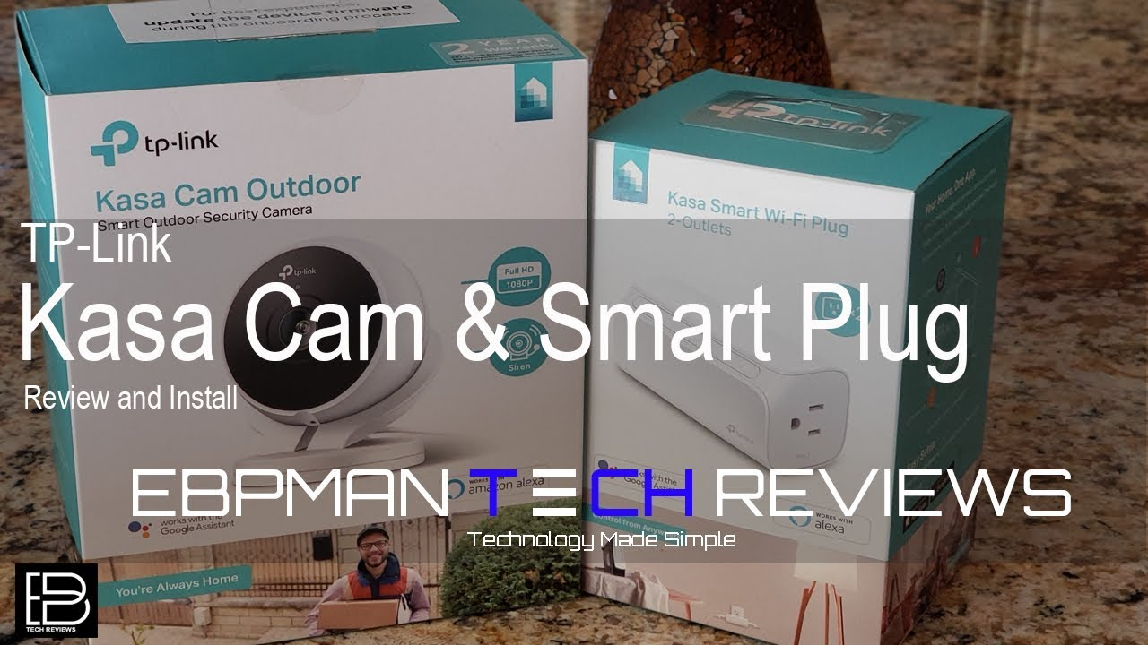 TP-Link Kasa Outdoor Wifi Cam and Dual outlet with Amazon alexa and Google  Assistant Review