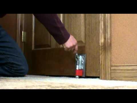 & Door Blocker Operating Instructions - YouTube