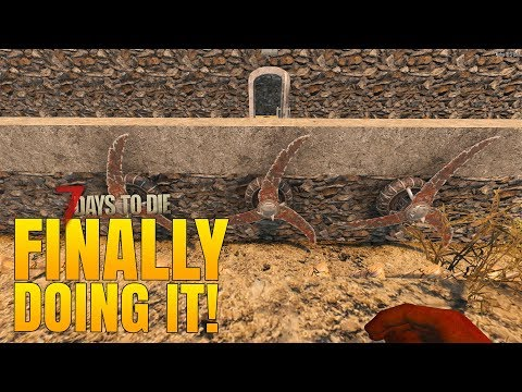 WE'RE FINALLY DOING IT! - 7 Days to Die Alpha 16 Multiplayer Gameplay #50