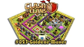 Let's play Clash Of Clans #023 - Goldene Mauer [Deutsch / German][LP iOS IPhone]