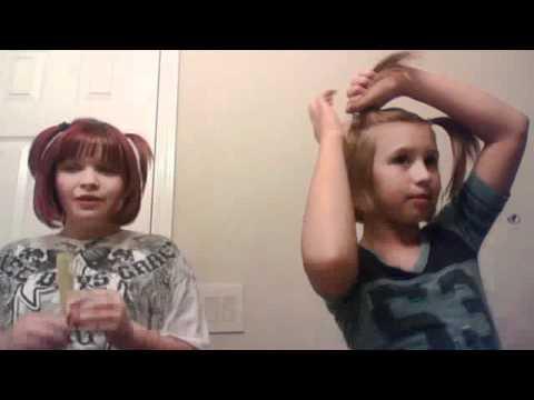 rocky and kellies cutie girl hair tutorial