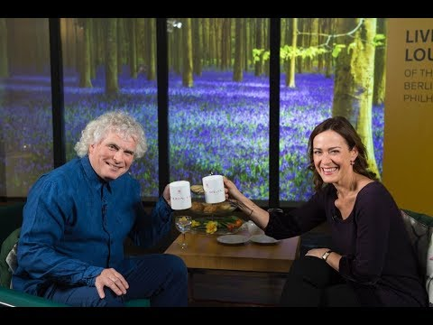 Sir Simon Rattle on the Berliner Philharmoniker Live Lounge
