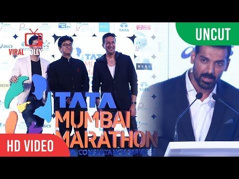 UNCUT - Mumbai Marathon 2018 Launch | John Abraham, Haile Gebrselassie, Prasoon Joshi, Gul Panag