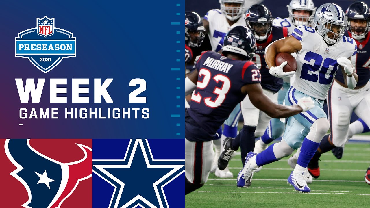 Download Houston Texans vs. Dallas Cowboys   Preseason Week 2 2021 NFL Game Highlights