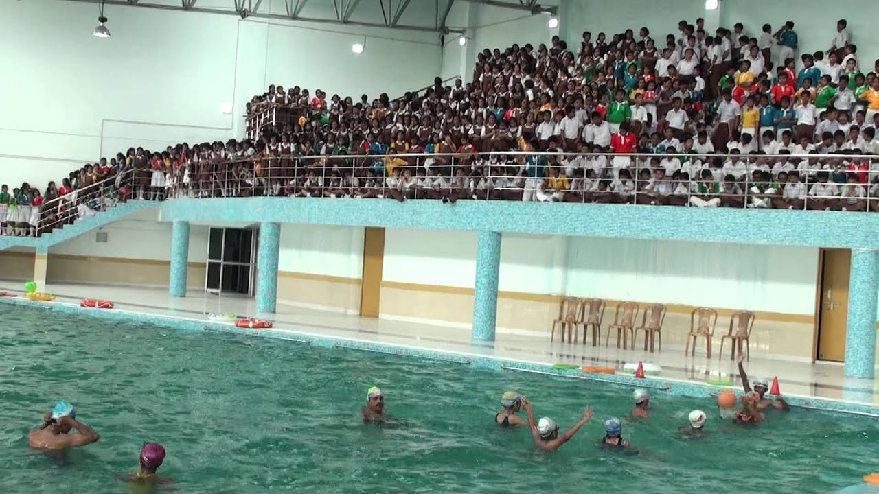 Indoor School Swimming Pool water polo at indoor swimming pool , dhrc - youtube