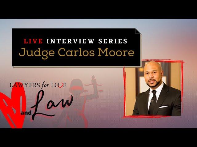 Judge Carlos Moore, Mississippi USA