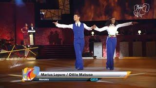 Otlile Mabuse & Marius Iepure  - 3rd place @ 2014 PD World Showdance Latin