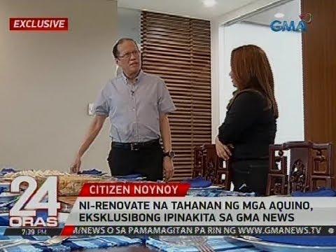 24 Oras Exclusive: Ni-renovate na tahanan ng mga aquino, eksklusibong ipinakita sa GMA News