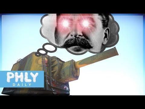 Let the hand of STALIN GUIDE YOUR SHOT | KV-2 Nuke Rounds (War Thunder)